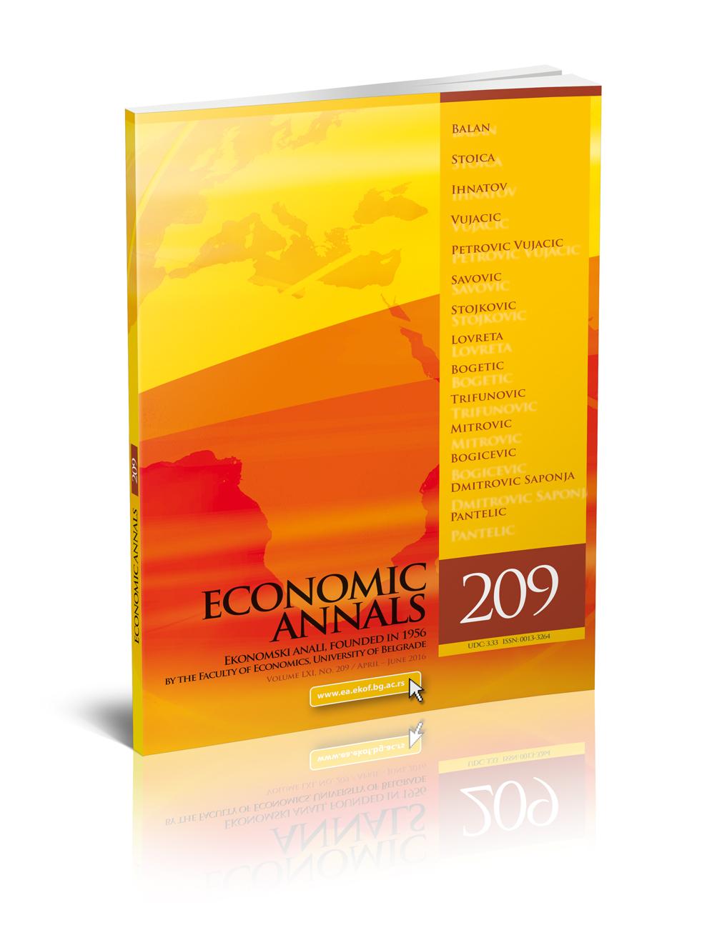 Ekonomski anali 209_korica 3D
