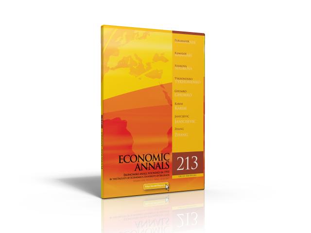 ekonomski anali 213 3D