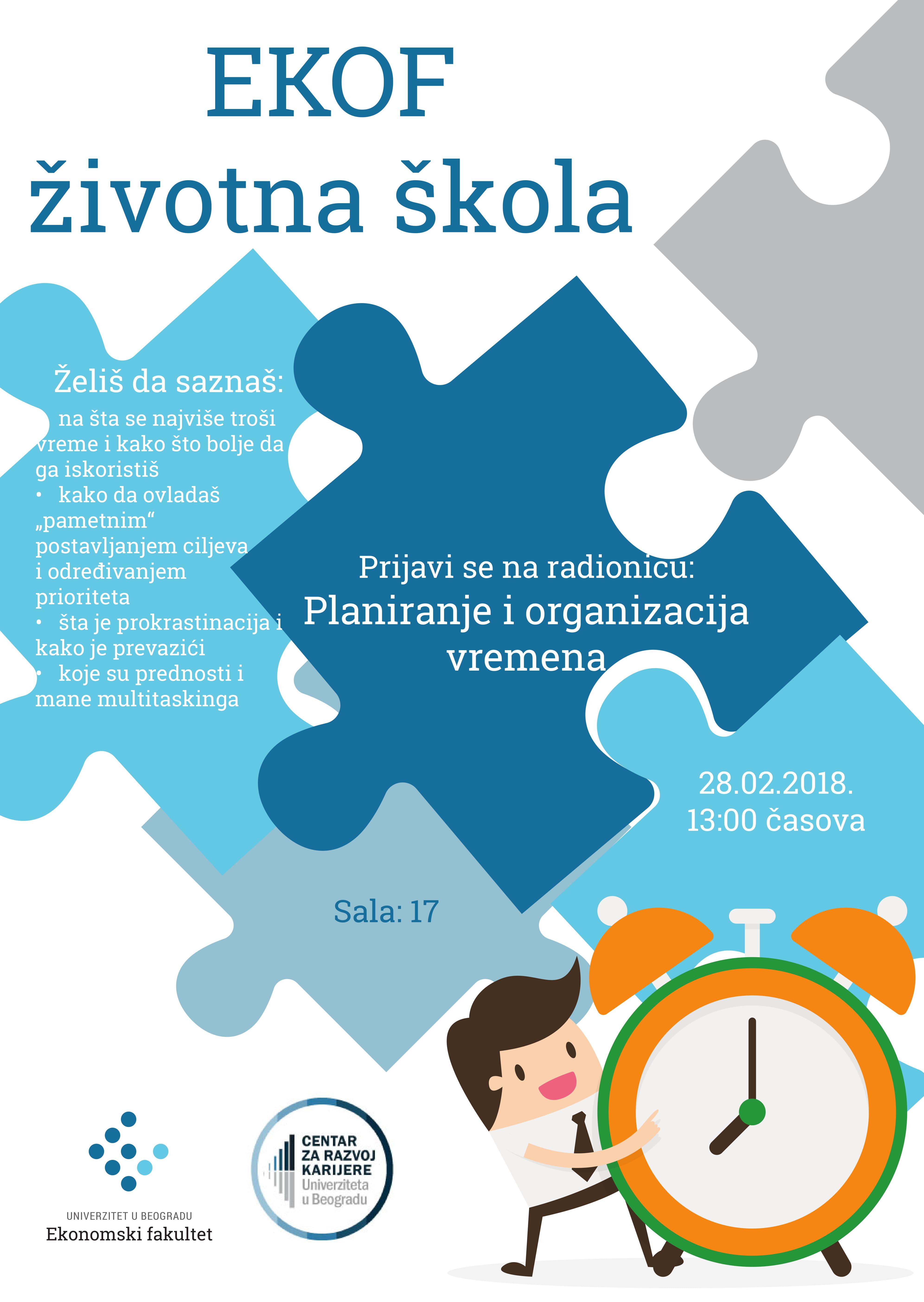 Ekof životna škola - upravljanje vremenom-1