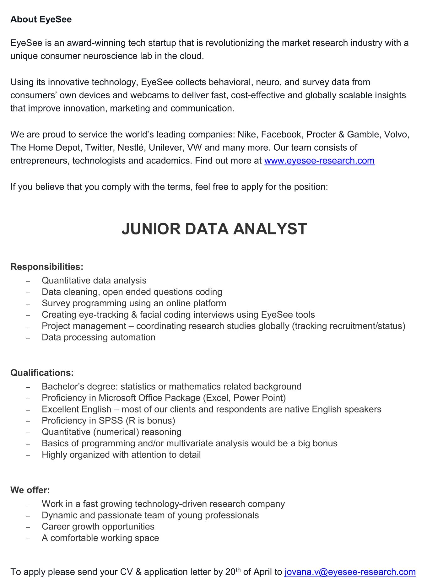 Junior Data Analyst-1