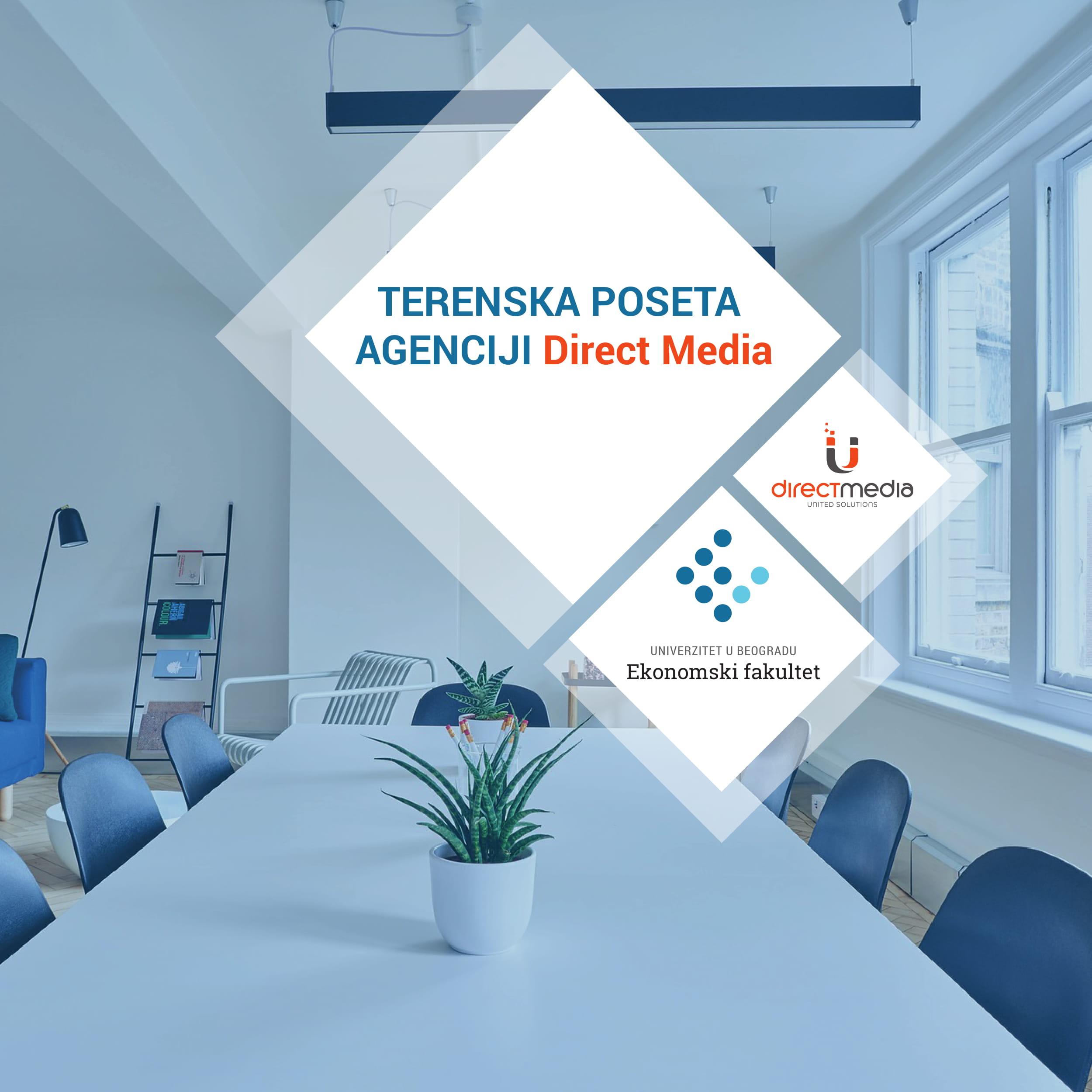 TERENSKA POSETA, DIRECT MEDIA-1