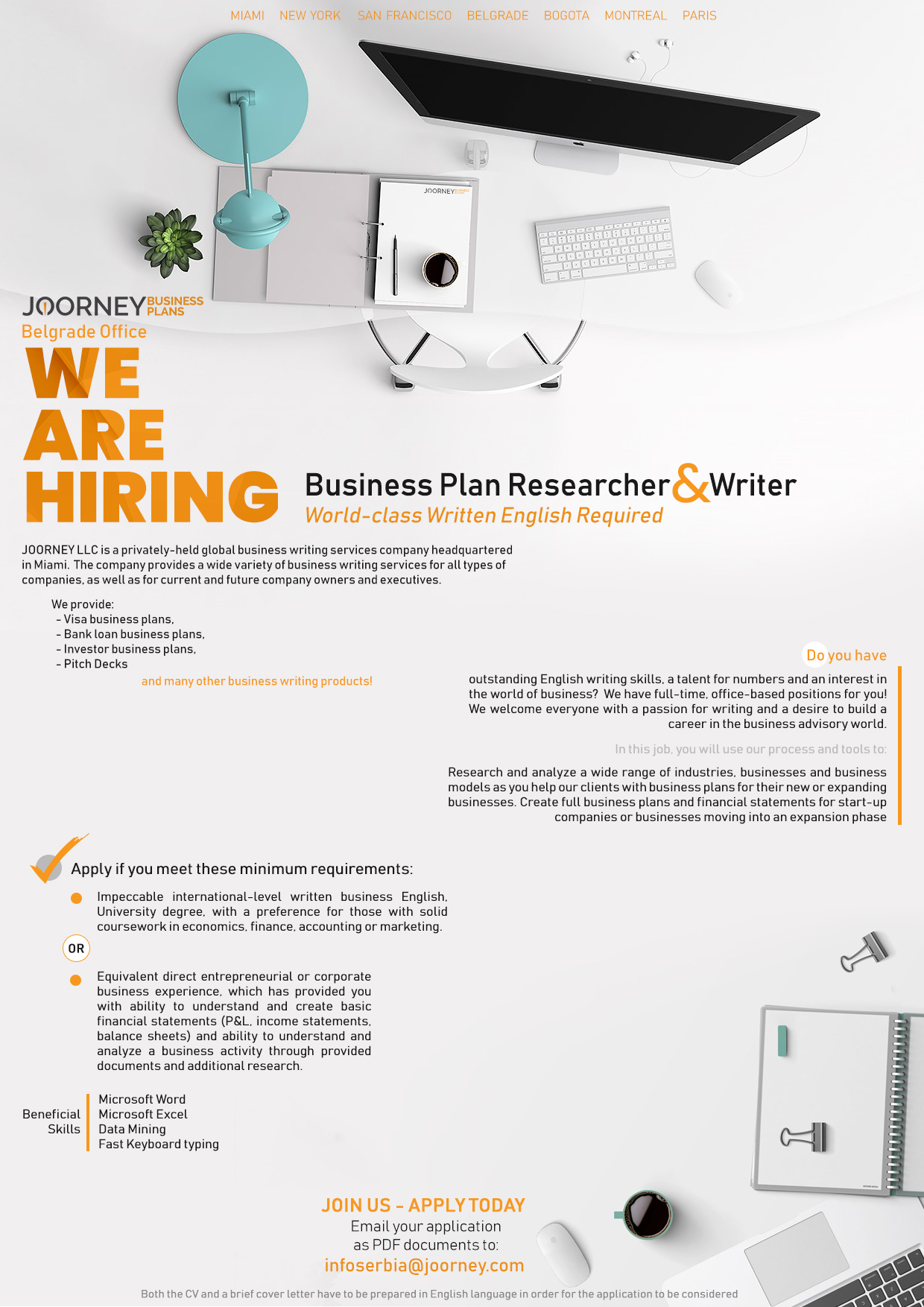 Joorney-Job-Ad-Business-Plan-Researcher-and-Writer NEW 2019