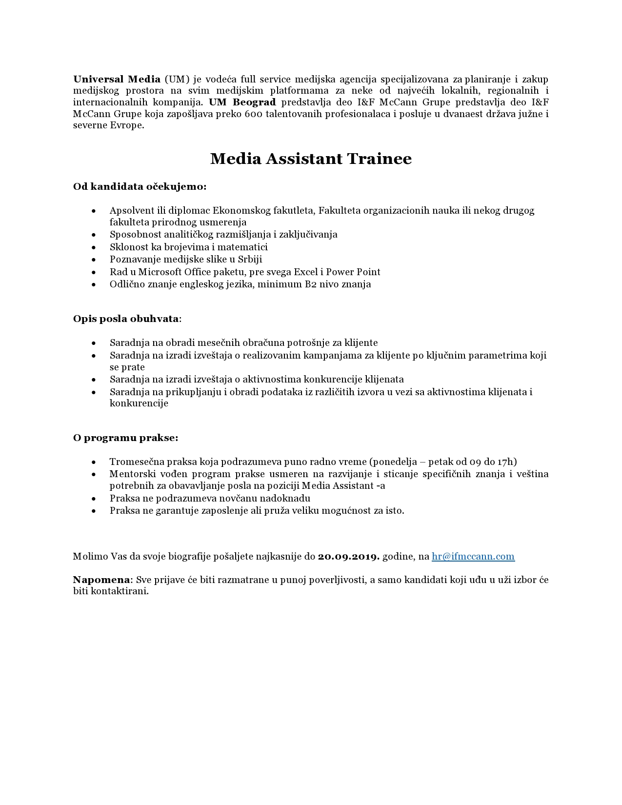 UM_oglas za Media Assistant Trainee-page0001